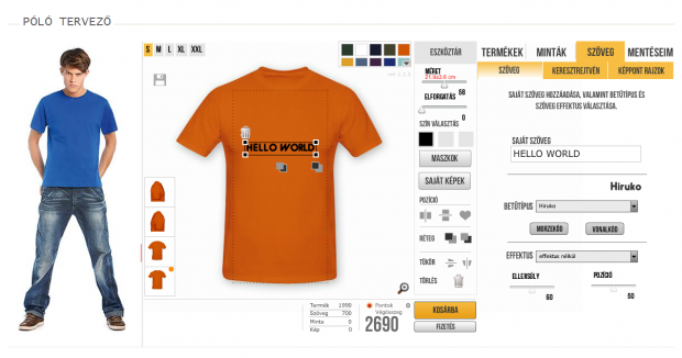 Onlinepolo Hu T Shirt Designer E Commerce Drupal Org