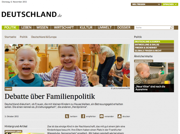 article page on deutschland.de