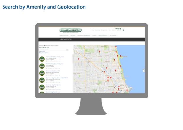 Example of the mapping emphasis in the CPD Drupal 8 site