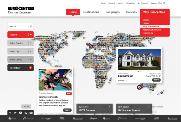 Eurocentres Portal Provided by Cando Switzerland