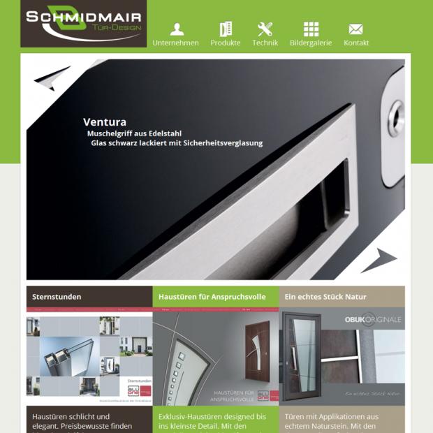 Schmidmair Tür-Design Frontpage