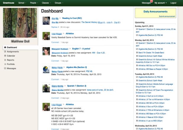 Greenhouse Dashboard