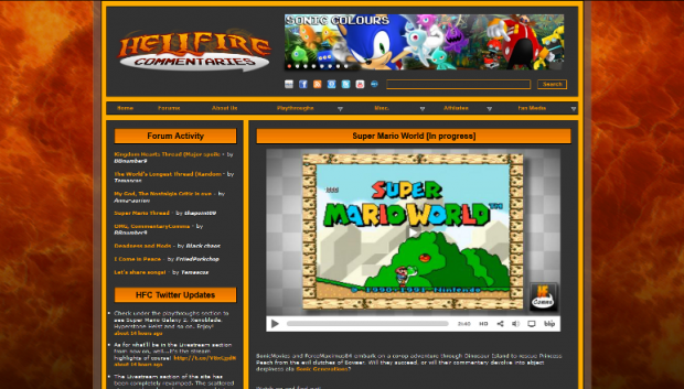 Hellfire Commentaries front page