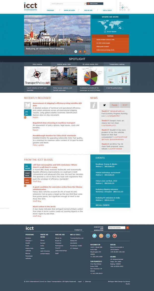 icct website