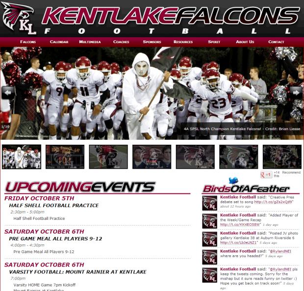 Kentlake High School Football