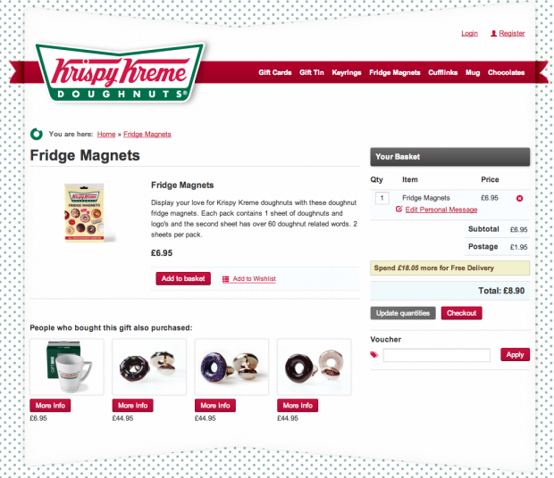 Krispy Kreme Gifts Store