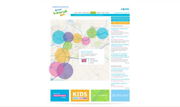 Limerick Map page