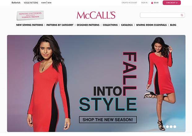 The Mccall Pattern Company Drupal