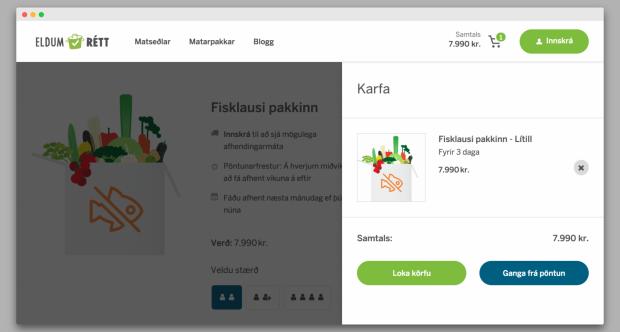 Food delivery service built on Decoupled Drupal Commerce