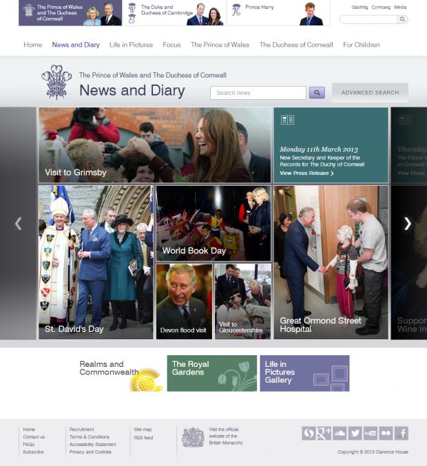 News and Diary slider
