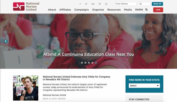 National Nurses United - Migration from ExpressionEngine ...