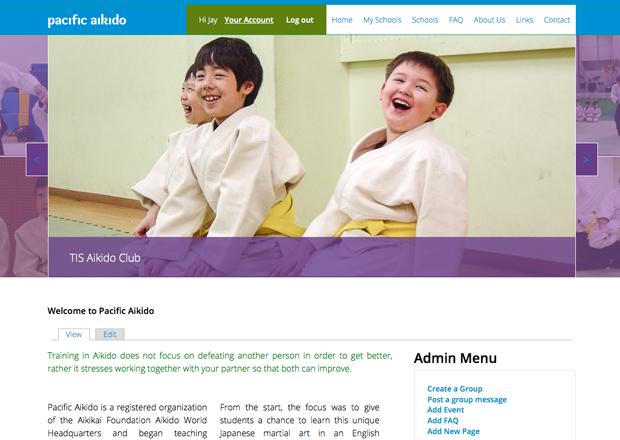 Pacific Aikido screenshot