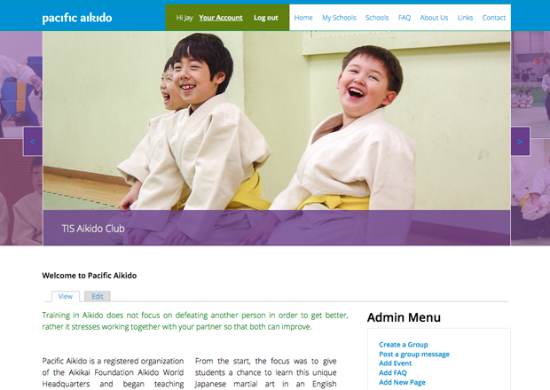 Pacific Aikido screenshot
