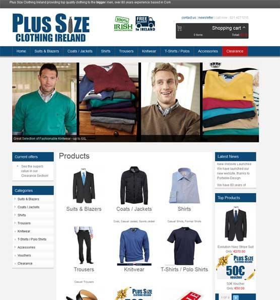 plus size clothing ireland