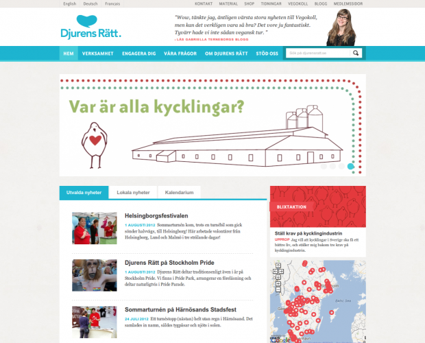 Djurens Rätt by Rabash Web & Design Cooperative