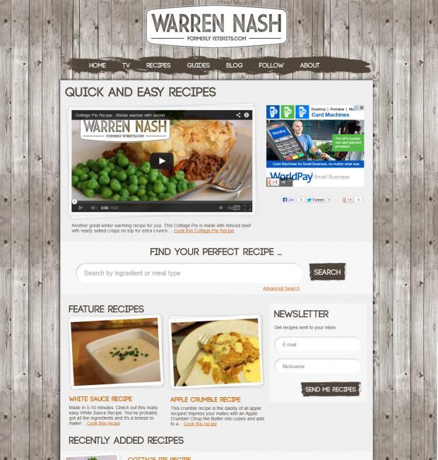 Warren Nash All Recipes