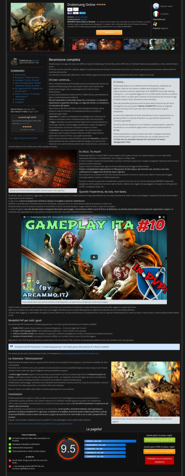 AreaMMO it - MMO games portal   Drupal org
