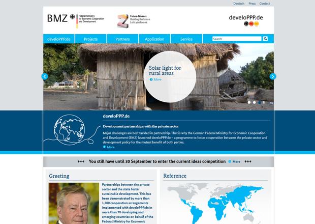 Screenshot www.developpp.de