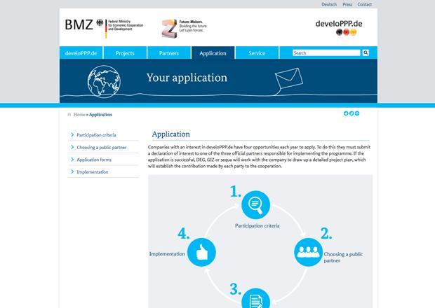 Screenshot of www.developpp.de