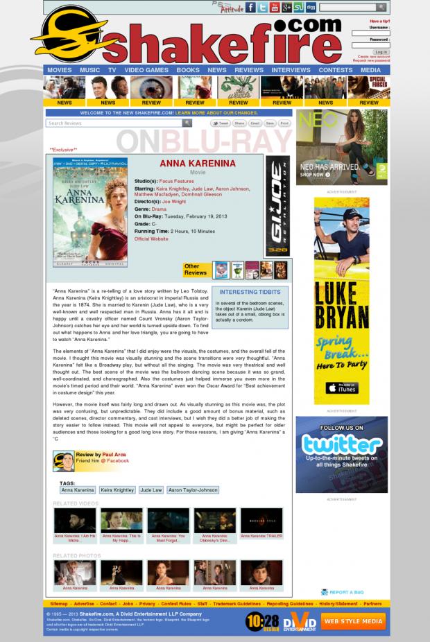 Shakefire.com Review Page