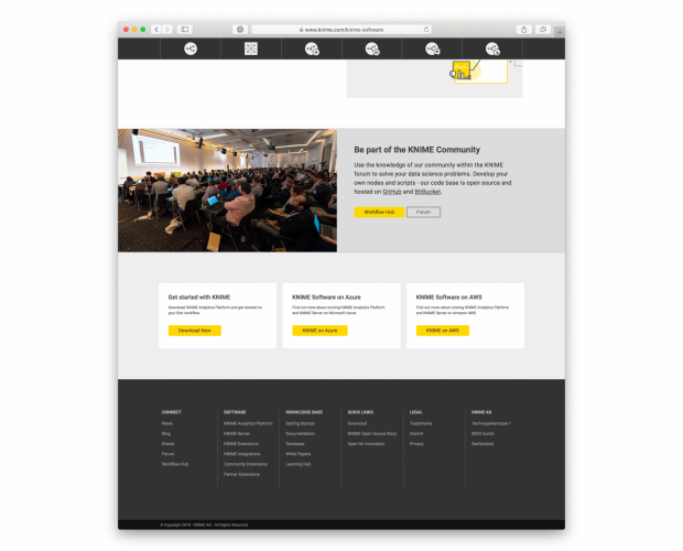 Recreation of the KNIME Software Category Pages | Drupal org