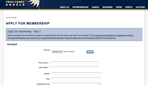 TCA Membership Application