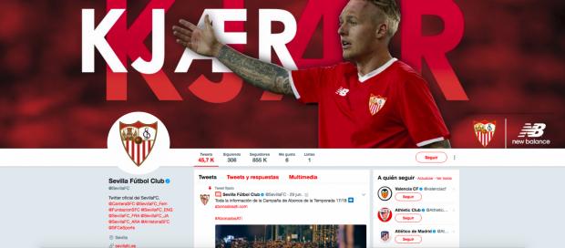 Twitter Sevilla FC