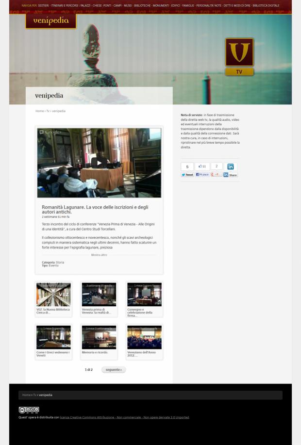 Venipedia TV - The web tv.