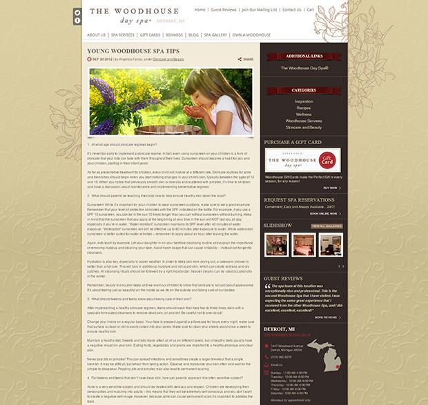 woodhouse blog