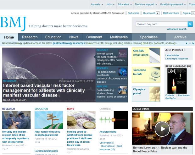 bmj.com Drupal success story
