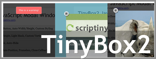 TinyBox Simple Splash