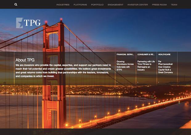 TPG Capital Homepage