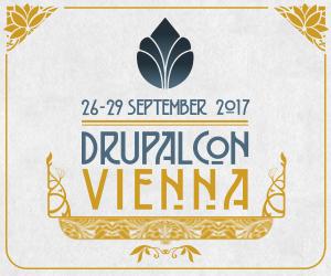 DrupalCon Vienna logo Sep 26-29 2017