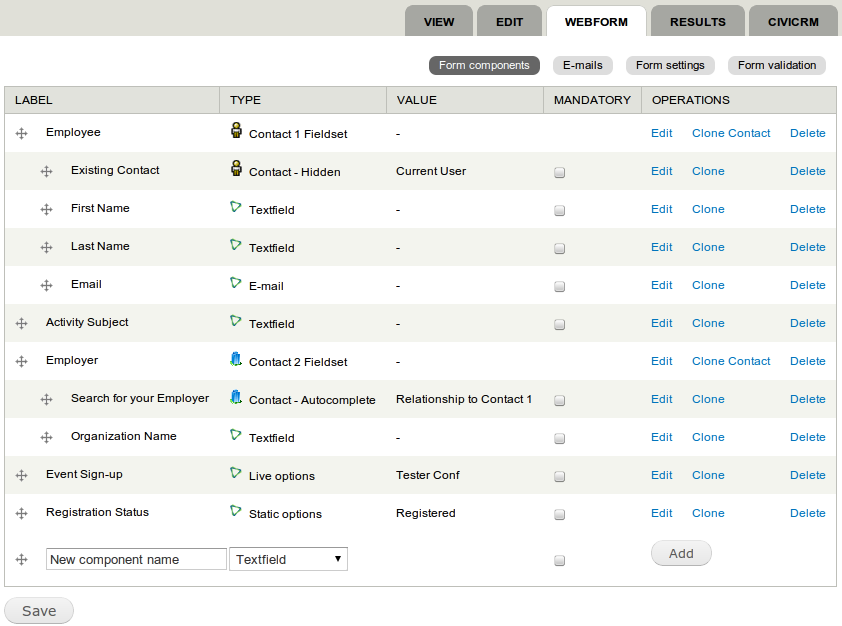 Sweet New Features for Building Webforms | CiviCRM