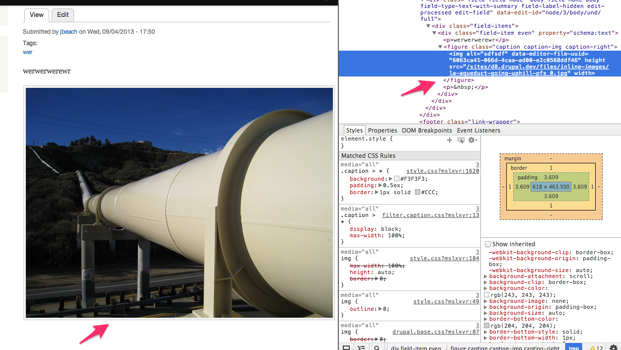 Screenshot of a node page. The image in the node should have a caption underneath, but that caption is missing